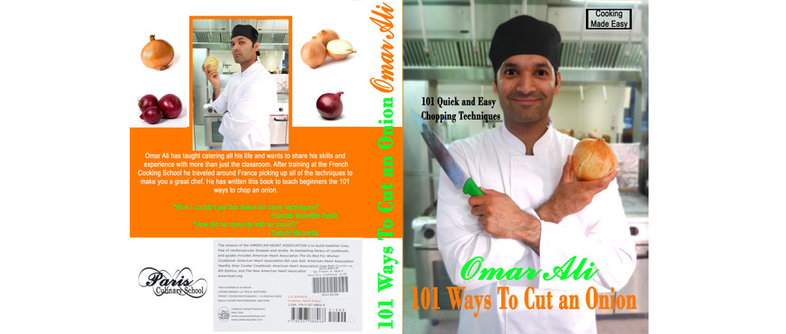 Cook Book Cover - Photoshop