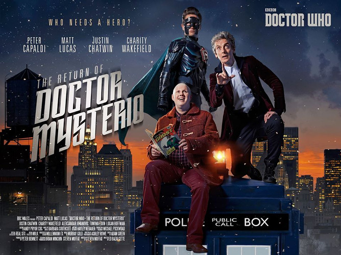 Doctor Who Xmas Special - Art Department Work Experience
