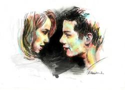 """Photoshopped """"Stiles and Malia"""""""