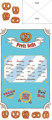 Pretzel stand side I designed using Adobe Illustrator