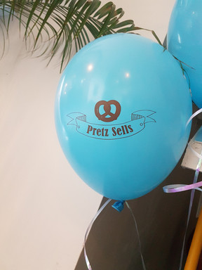 Balloon with my printed logo