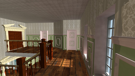 3DS Max Canterville Ghost House