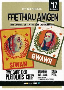 Ffeithiau Amgen poster
