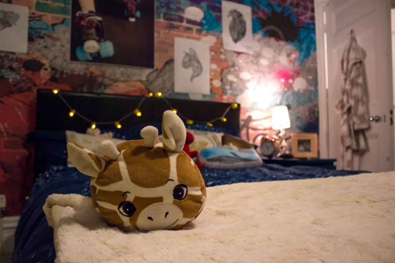 Dressed bed