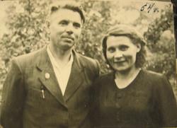 1954 Гарри и Клава Петровы