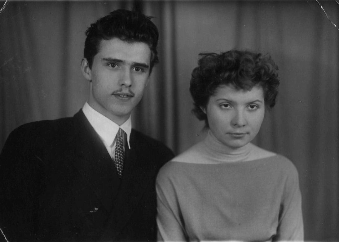 Саша и Алла Пуховы 1958.07.14