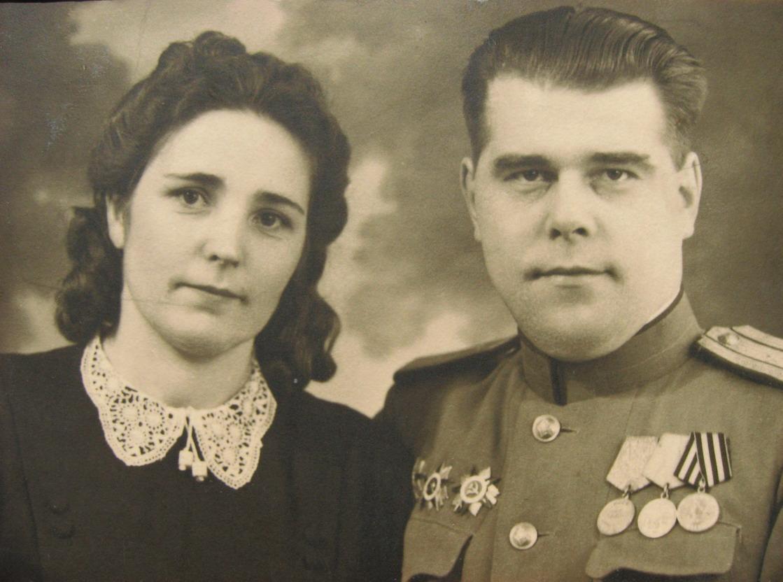 Надежда и Леонид Пуховы