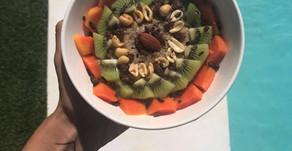 Raňajková kaša s quinoou