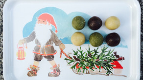 Raw guličky ako vianočné občerstvenie