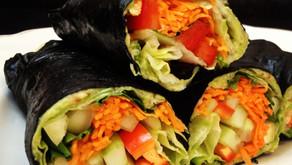 Zeleninový wrap v riase nori
