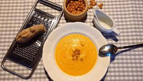 Mrkvová polievka / vegánska