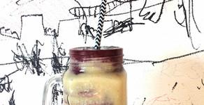 Ananásovo-čučoriedkový smoothie