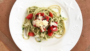 Brokolicové špagety v Pedasí