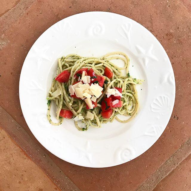 Brokolicové špagety