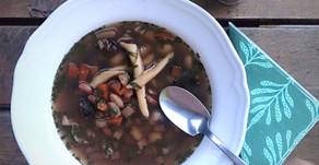 Fazuľové trio v polievke
