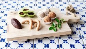 5 rýchlych receptov na prípravu raw vianočných koláčikov