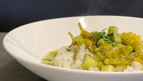 Zelené kari s voňavou ryžou