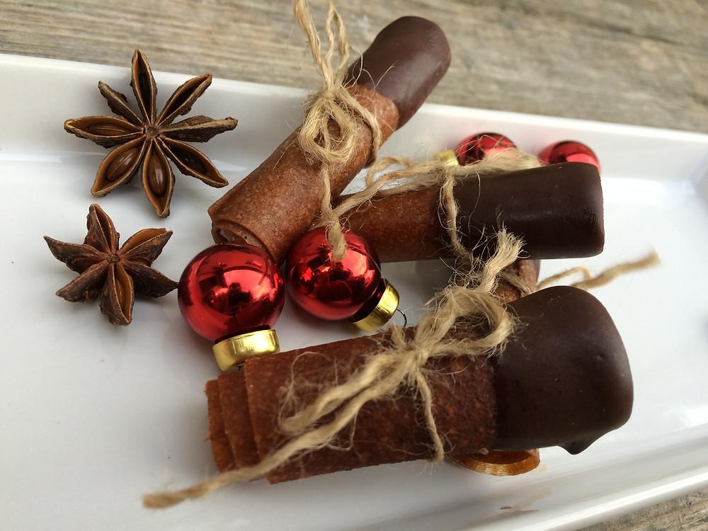 vianočné ovocné kože