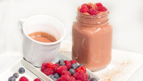 Čokoládovo-malinový smoothie - video