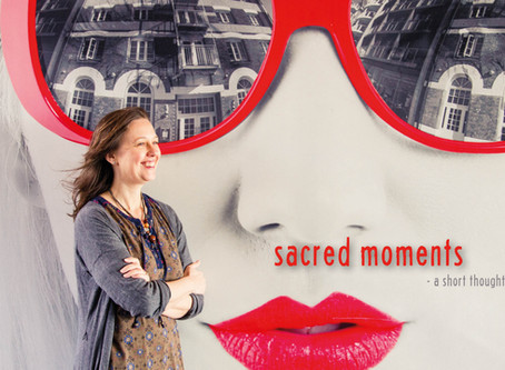 Your spiritual life: Sacred moments