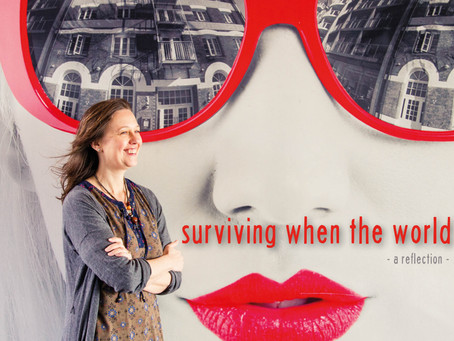 Your spiritual life: Surviving when the world stops.