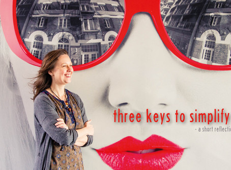 Your spiritual life: Three keys to simplify life