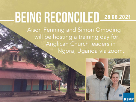 Being Reconciled - Online training day