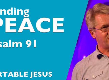 Portable Jesus: Stress or peace