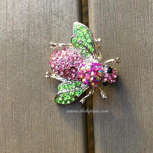 Queen Bee P & G Brooch