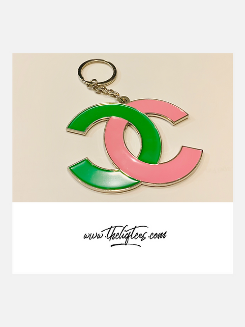 Oversized Popular Brand Keychain