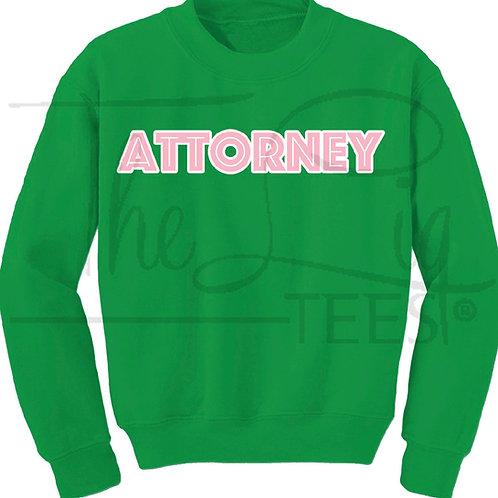 Professions Sweatshirt|Attorney
