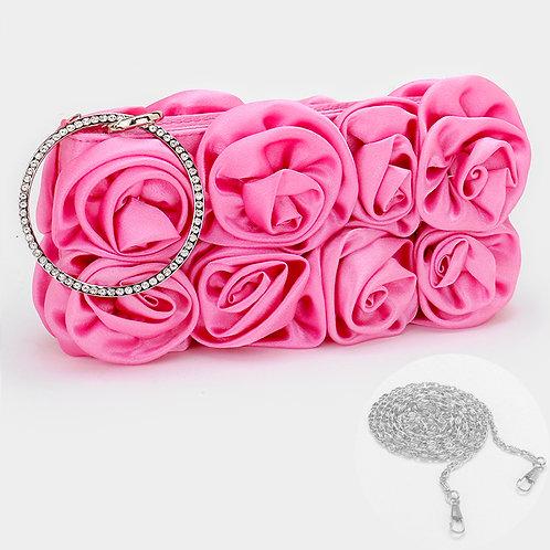 Rose Flower Clutch