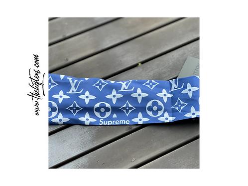 LV Blue Vintage Headband
