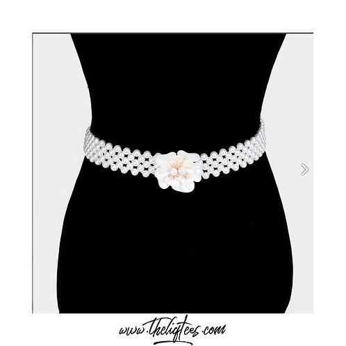 Flower Pearl Belt