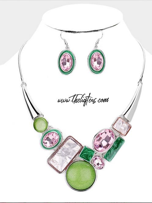 Spring Kutie Necklace Set