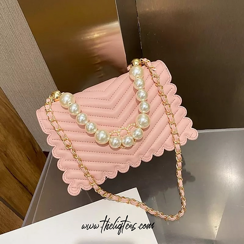 Pink Pearl Purse