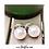 Thumbnail: Two Faced Monogram Earrings