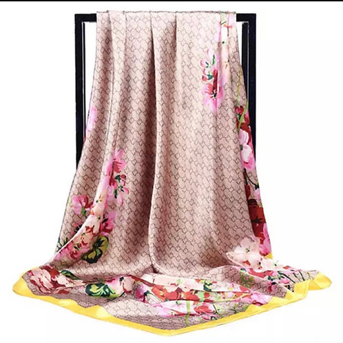 Floral Scarf|Wrap