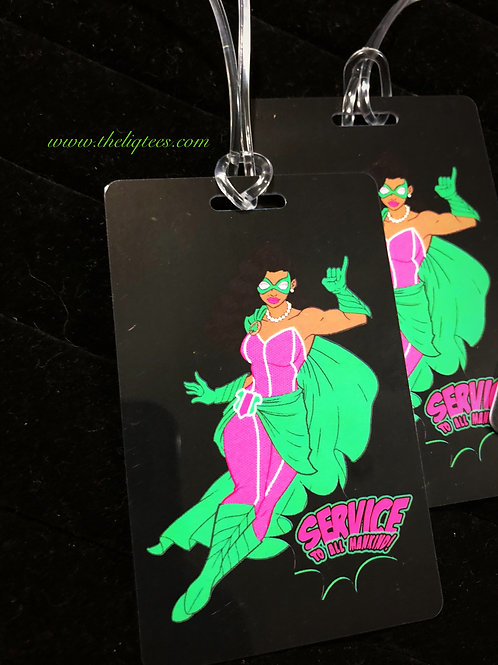 Super AKA Luggage Tag