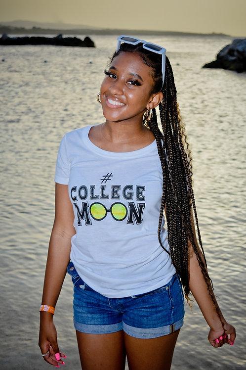 College Moon Tee