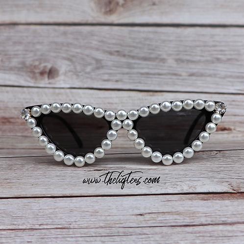 """""""Divo"""" Pearl Sunglasses"""