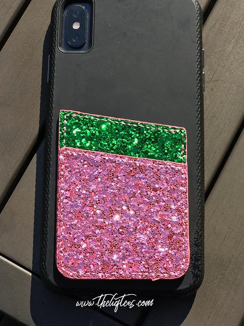 P & G Bling Phone Wallet