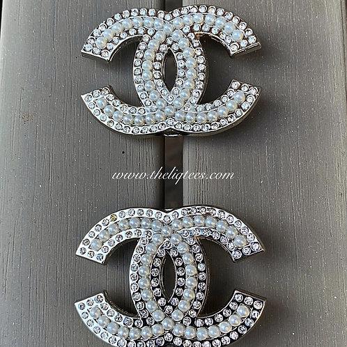 Pearls & Shine Popular Brand Pin