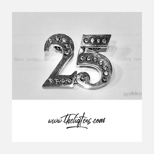 25 - Silver