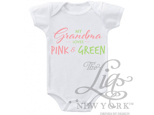 Grandma LOVES Pink & Green!