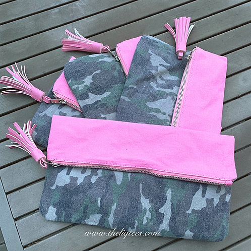 Camo Clutch|Document Holder