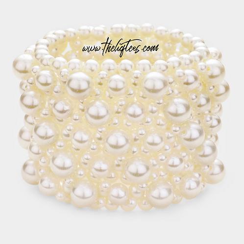 Wonder Woman Pretty Pearl Bracelet