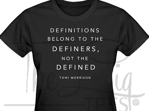 Definitions - Toni Morrison