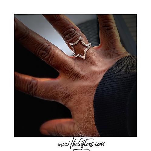Silver Star Ring