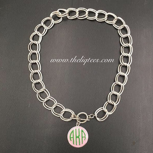 Monogram AKA Chain Link Necklace